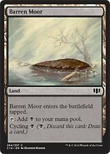 Barren Moor   NM  x4   Commander 2014  MTG  Magic Cards Land  Common