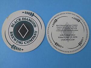 Beer Coaster Black Diamond Brewing Co Walnut Creek