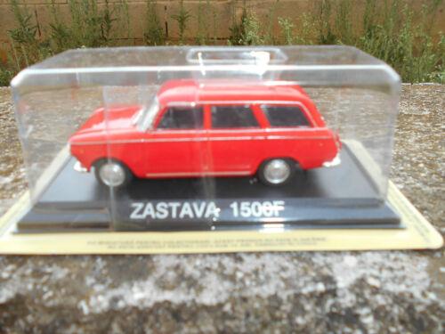 ZASTAVA 1500 F Die cast 1//43 EUROPA DELL/'EST