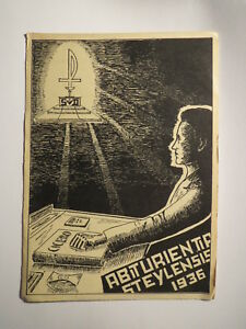 Abiturientia-Steylensis-1936-Cicero-Buch-Karte-Studentika