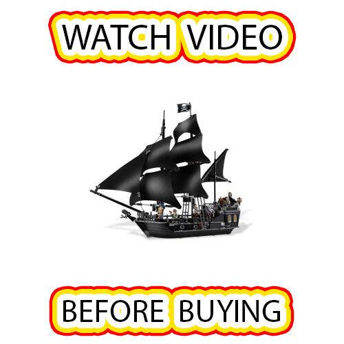 LEGO La perle noire set 4184 Pirates of the Caribbean