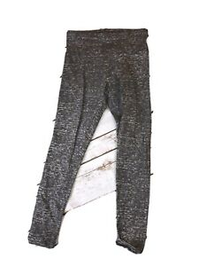Girl-039-s-Justice-Gymnast-Gymnastics-Pants-Size-8-Grey