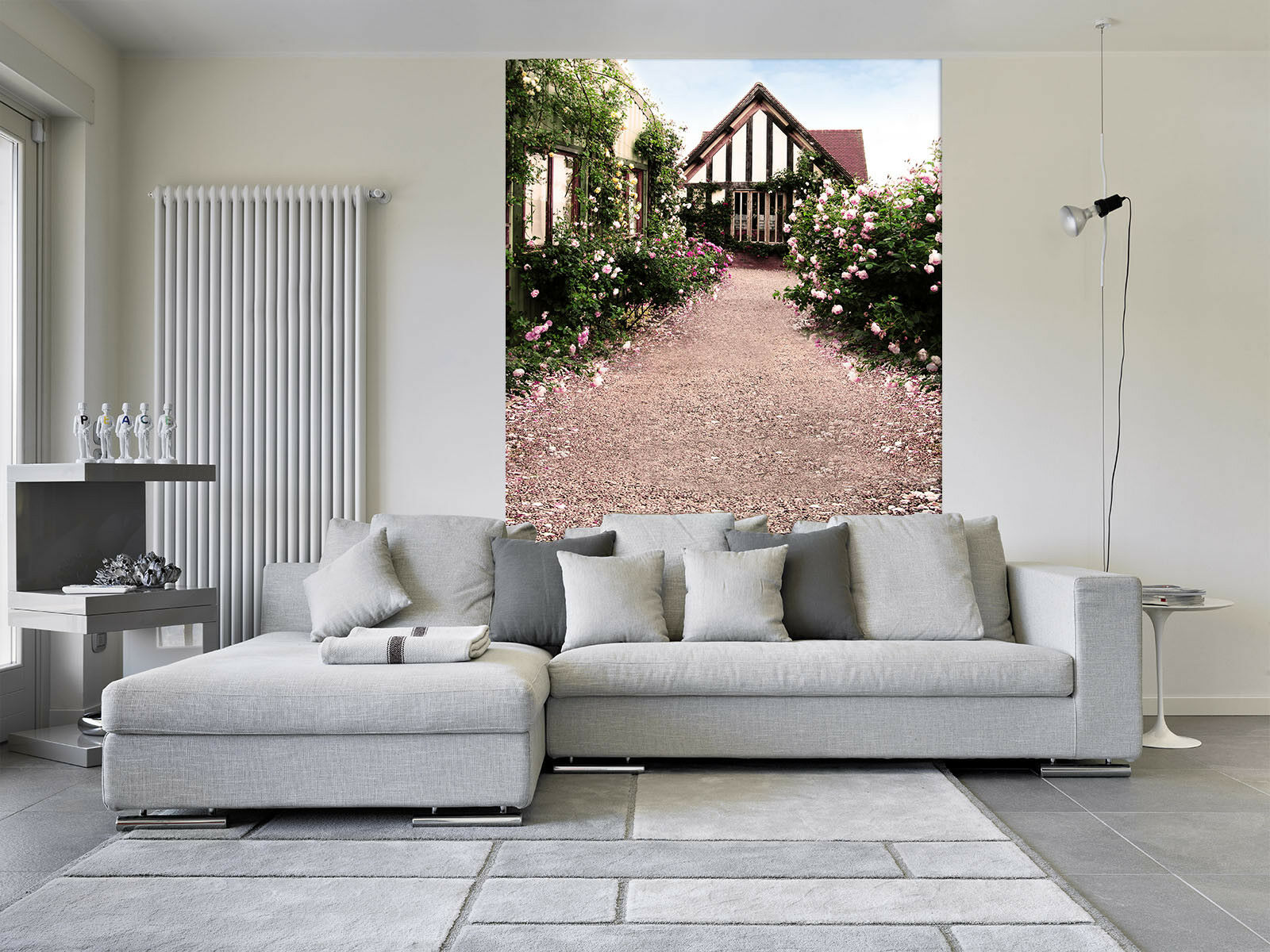 3D Gartenhaus Himmel 48 Tapete Tapeten Mauer Foto Familie Tapete Wandgemälde DE