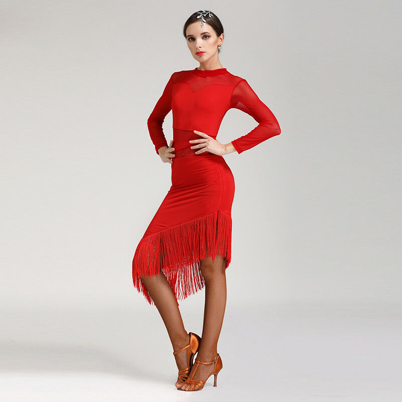 NEU Latino salsa Kleid TanzKleid Standard LatinaKleid Latein Turnierkleid NN078