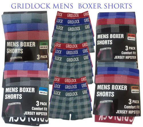 boxer shorts for men pack of 12 underwear gridlock jersey soft hipster wideband