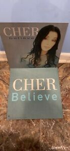 "CHER Believe 2-12"" promo only flats excellent condition"