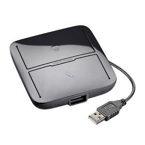 Hub-USB-pour-convergence-PC-et-telephone-fixe-PLANTRONICS-MDA200-NEUF