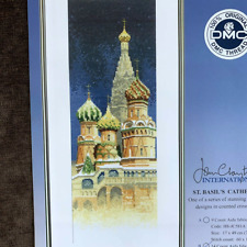 "Basil/'s Cathedral On Ai Thea Gouverneur Counted Cross Stitch Kit 13.5/""X14.5/""-St"