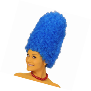 Cartoon Blue for Marge Simpson Wig for Fancy Dress Costumes /& Outfits