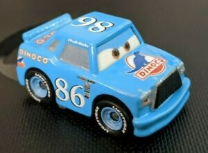 DISNEY PIXAR CARS DIE CAST MINI RACERS CHICK HICKS LOOSE FREE SHIP $15+