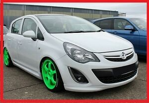 vauxhall opel corsa d - 5 door after facelifting - body kit - opc