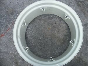 TWO-12x28-12-28-6-Loop-Ford-Deere-Farm-Tractor-Rims