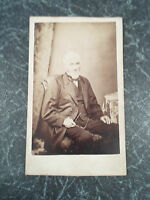 Antique Cabinet Photograph Victorian Gentleman ~ By Joseph Bottomley, Bradford