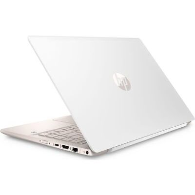 "HP Pavilion 14-ce0595sa 14"" Intel® Pentium® Gold Laptop 128 GB SSD White & Gold"
