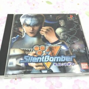 USED-PS1-PS-PlayStation-1-Silent-Bomber-43165-JAPAN-IMPORT