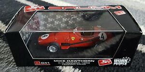 Brumm S041 143 Ferrari 246 F1 Mike Hawthorn GP Francia 1958 LtdEd - <span itemprop='availableAtOrFrom'>Hoddesdon, United Kingdom</span> - Brumm S041 143 Ferrari 246 F1 Mike Hawthorn GP Francia 1958 LtdEd - Hoddesdon, United Kingdom