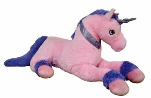Peluche-Unicorno-Rosa-Sdraiato-enomre-gigante-90-cm-morbidissimo