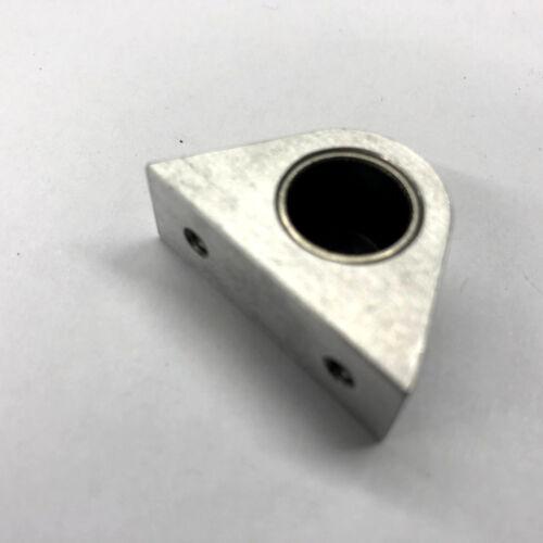1 Piece Bearing Bracket With Bearings ø 12 mm Height Center Bore 11,5mm Aluminium 0238