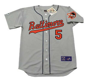 db76d5d3bb6 Image is loading BROOKS-ROBINSON-Baltimore-Orioles -1963-Majestic-Cooperstown-Away-