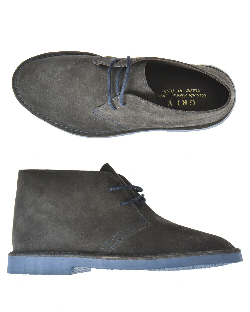 Stivaletti shoes Daniele Alessandrini Ankle Boots men grey F600KL1613706 10