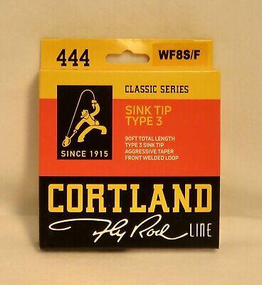 Cortland 444 classic series LIGNE MOUCHE 10/' Rapide Évier-Tip-Type 3-WF8F//S