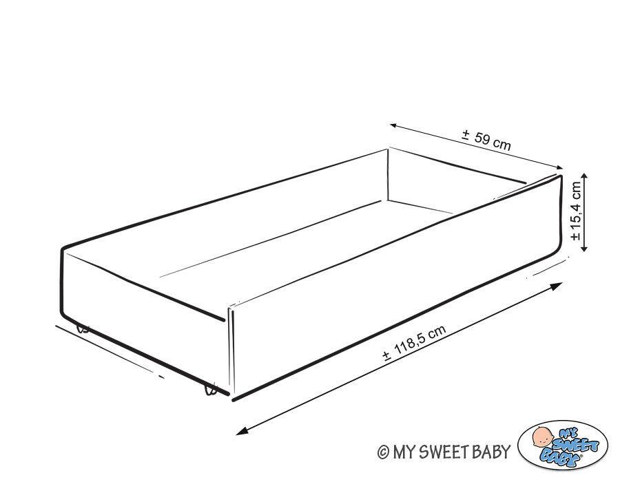 Kinderbett Lovely Birds + Standard Standard Standard Schublade + Matratze   4 Farben 83b906