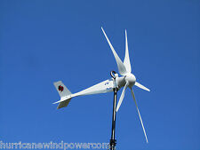 Hurricane Vector Wind Turbine Generator Kit 2500 Watt 48 Volt 1000 continuous