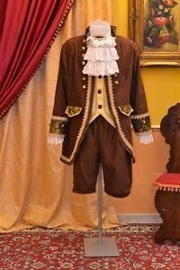 Abito-Storico-Costume-di-Scena-Abito-d-039-Epoca-Costume-Storico-Stile-1700-cod-923
