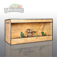 Osb Terrarium 100 X 50 X 50 Cm, Seitenbelüftung, Holz