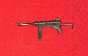 Joe//Cobra Vehicle Part/_1985 Night Landing Raft Craft Machine Gun!!! G.I