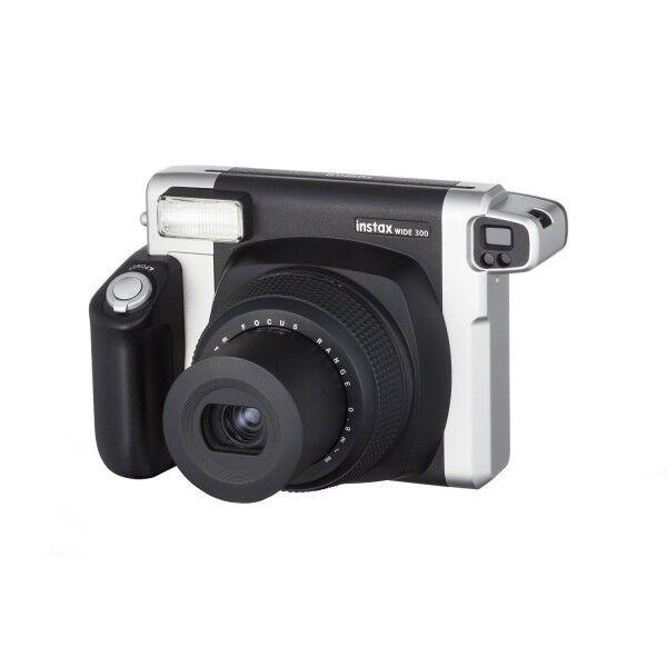 2019 DernièRe Conception Fujifilm Instax 300 Wide Instant Camera Bundle Avec 10 Coups Attrayant Et Durable