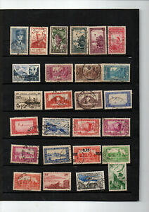 Colonies-65-timbres-Algerie-avant-independance