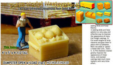 DUMPSTER OPEN w/LOAD (1pc) Scale Model Masterpieces / Yorke 1;87/HO/HOn3/HOn30