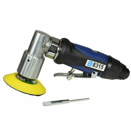 """3/"""" 75mm Air Angle Sander Grinder Polisher Sanding and 100 pack mixed discs"""