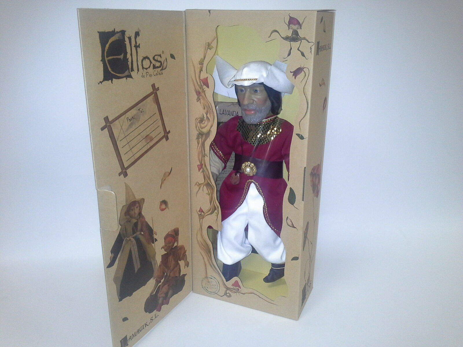 ELFOS ELF AL-AZRAQ 36 CM. COLLECTION ITEM. 40010. NEW