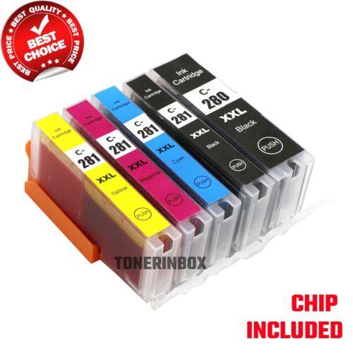 PGI-280 PGI280 XXL CLI-281 XXL Ink for Canon PIXMA TS6120 TS6220 TS8120 TS9120