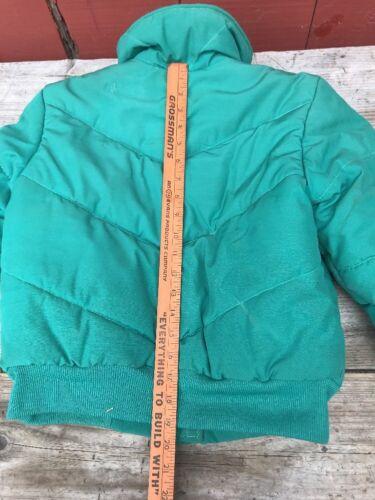 Vtg 10 Vert North 80s Talon Extérieur Jacket Womens Rétro Usa Face Zippers Rare qOUndq