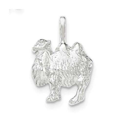 .925 Sterling Argent Texturé camel chaîne Diapositive Charme Pendentif fabricants Standard prix de détail $18