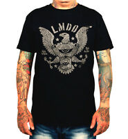 La Marca Del Diablo 666 Just In Live To Ride T Shirt Rockabilly Biker Tequila