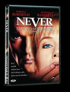Never-Talk-to-Strangers-DVD-1999-Bilingual-Free-Shipping-In-Canada