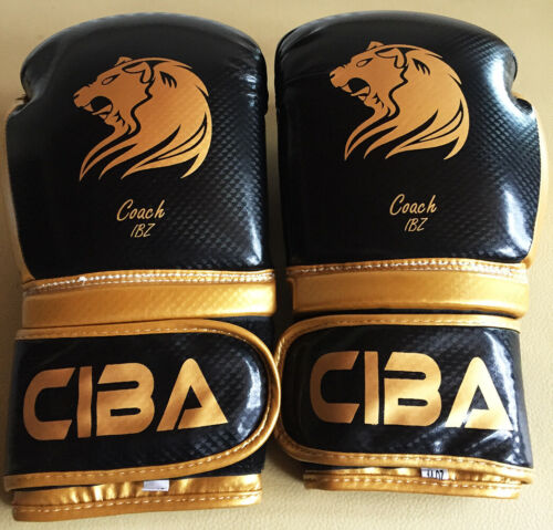 CIBA Boxing Sparring / Training Gloves High Quality & Spec. FREE HAND WRAPS