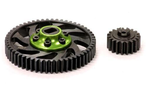 5B2.0 /& 5SC RC Billet Machined Type II Gear Set 19T+55T for HPI Baja 5B 5T