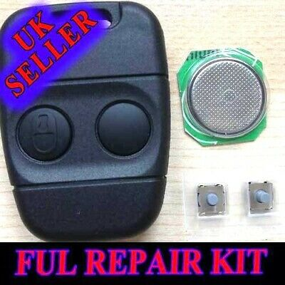 2 Button Remote Key Fob Repair Kit for Land Rover Freelander Defender Discovery