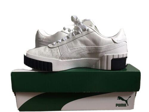 PUMA Women's Cali Fashion Sneakers, White/Black