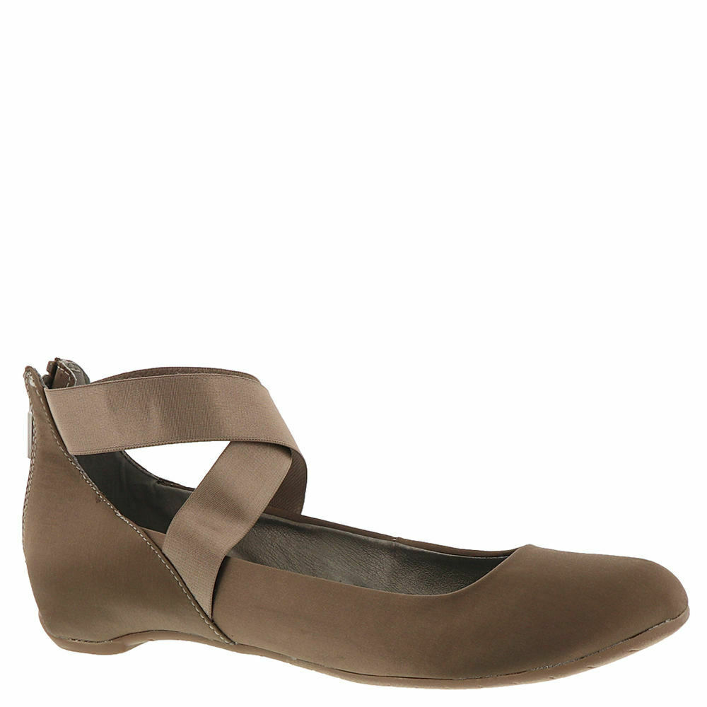 Kenneth Cole REACTION Pro-time Ballet Flat with Elastic Ankle Strap US 9.5 M