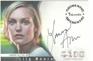 Details about The 4400 Season 1 Autograph Card A-5 Laura Allen