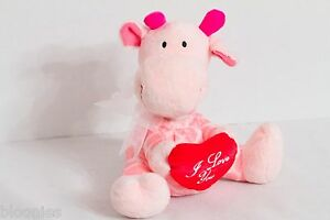 Gemmy-Pink-Giraffe-Animated-Singing-Toy-sings-034-You-039-re-Love-Keeps-Lifting-Higher-034