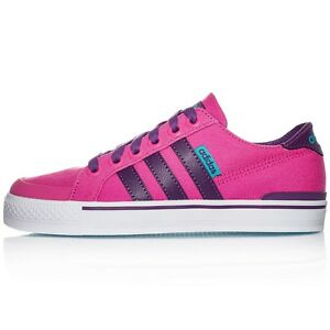 SCARPA N. 40 ADIDAS CLEMENTES K ART. F99281 SHOES BASSE IN TELA
