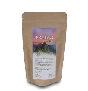 INKA SALZ Sonnensalz aus Peru 1kg - Original INKANATURA  -  Körnung 1-3 mm