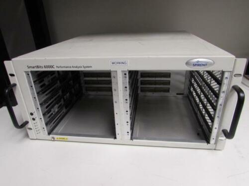 12 slot Spirent Smartbits SMB-6000C Network Test Mainframe SMB6000C